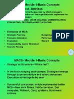 MCS Basic Concepts
