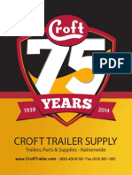 Croft Trailer Supply Catalog 2014