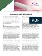 NSF OR FDA