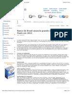 Banco Do Brasil Anuncia Grande Concurso Para São Paulo Em 2012