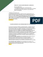 Diseño Producto y Selección Proceso-servicio