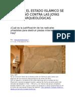 Por Qué El Estado Islámico Se Ensañó Contra Las Joyas Arqueológicas