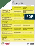 Agenda Internacional 2015
