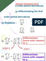 Higher Order Derivatives Week2-Degree