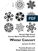 Norwin HS Band Winter Concert January 2015