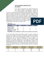 Ejercicios Formulacion de Modelos de Pl Completo