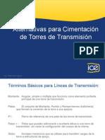 Cimentaciones Para Líneas de Transmisión