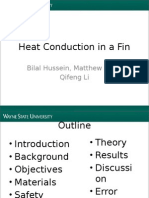 Heat Conduction in a hh