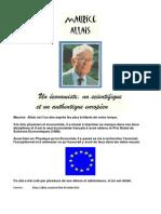 Maurice Allais, Un Économiste, Un Scientifique, Et Un Authentique Européen
