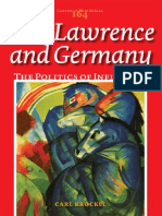 Carl Krockel D.H. Lawrence and D.H. Lawrence and GermanyGermany- The Politics of Influence (Costerus NS 164) 2007
