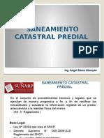 9.-Saneamiento Catastral Registral