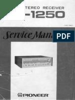 SX-1250 Service Manual (Hi-Res)