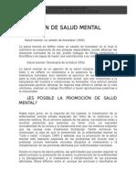 DEFINICIÓN DE SALUD MENATL