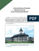 Manastirea Sucevita Unesco