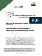 Laminar Heat Transfer to Non-Newtonian Fluids in Circular Tubes