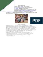 Garífuna y distintas etnias