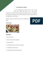 Varias Recetas Sin Gluten
