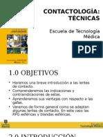 tecnicas de contactologia