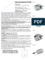 REW PT100 Installsheet