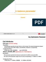 Huawei Cell Parameter Presentation_traffic Balance