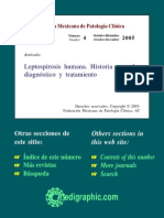 Leptospirosis Humana