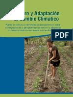 Genero Cambio Climatico Nicaragua Avsf 2015