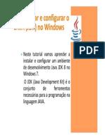 Programação - Install_Java