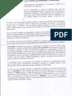 Conceptos Gnoseología - Epistemología