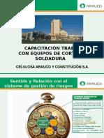 Capacitación Corte y Soldadura 16.12.08