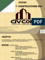 Brochure CIVCON Proyectos y Construcciones SAC