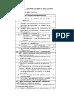 Malla de Indicadores de Evaluación 2 (Autoguardado)