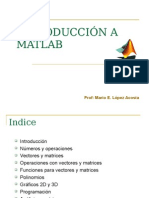 Clase de Introduccion Al Matlab