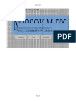 m 506 Data Sheet