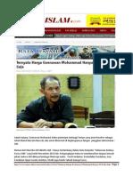 Goenawan Muhammad Background