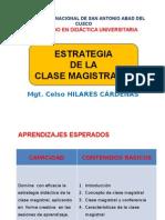 Estrategia de La Clase Magistral
