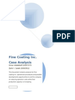 mis case analysis for fc inc
