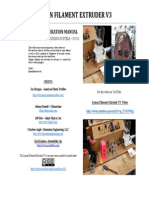 Lyman Filament Extruder v3 Manual