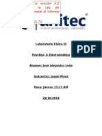 Informe Electrostatica Unitec