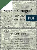 Sejarah Kartografi
