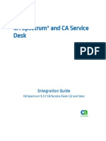 Spectrum ServiceDesk Integration ENU