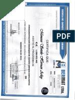 Diploma Manejador Canino Pitalito Marzo 10 de 2015 o18244
