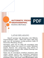 Automatic Programable Radiographic