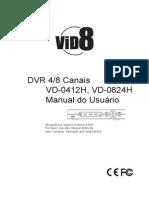 Manual DVR Linha H - 4&8