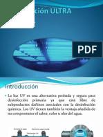Desinfección Ultra Violeta