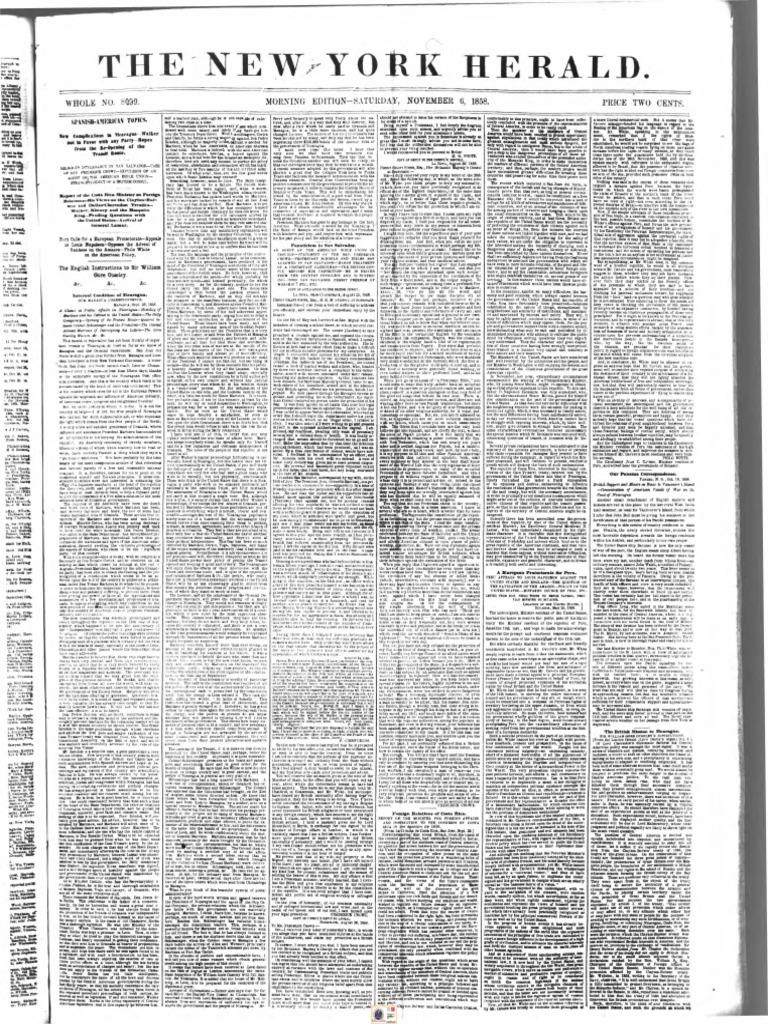 9a236938 Fanaticos Protestantes. Herald.1858 | Nicaragua (94 views)