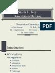 Dissertation Defense ppt