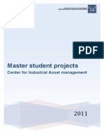CIAM Master Student Projects 2011