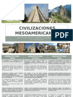 Civilizaciones Mesoamericanas.