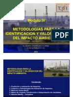 Modulo IV Metodologias para identificación del impacto ambiental PDF.pdf