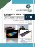 Analisa Struktur Konstruksi Geladak Barge Dengan FEM